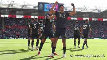 Jimenez back on scoresheet as Wolves win
