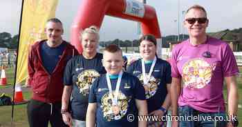 The inspiring message from Jarrow 10-year-old with leukaemia at Children's Cancer Run