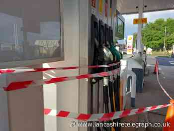 Petrol stations forced to close off pumps after 'frenzied' panic buying