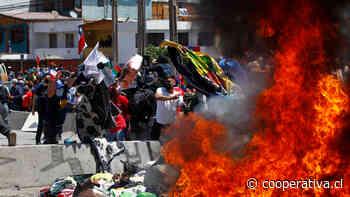 """SJM: Hechos como los vividos en Iquique """"eran previsibles"""" por la mala política del Gobierno"""
