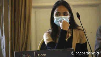 Constituyente Aguilera denunció agresión de Carabineros y descartó violencia intrafamiliar