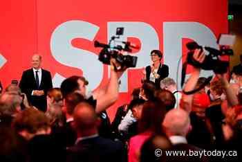 Merkel's bloc sees worst result since 1949; Social Dems rise