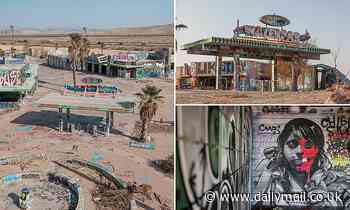 America's first waterpark hits the market for $11million after crumbling in the desert for 17 years