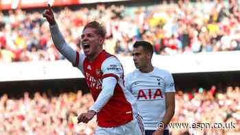 Arsenal pile misery on Spurs with derby win