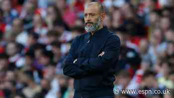 Nuno: I made bad decisions in Arsenal loss