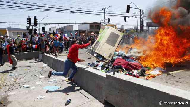 """""""No tuvimos tiempo de sacar las cosas"""": El relato de migrante que sufrió la quema de pertenencias"""