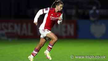 USWNT's Heath makes Arsenal debut in 5-0 win