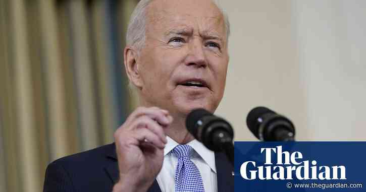 'People will pay' for harsh treatment of migrants at Texas border, says Biden – video