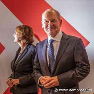 SPD nipt voor op CDU bij Duitse verkiezingen, Scholz en Laschet eisen beiden kanselierschap op