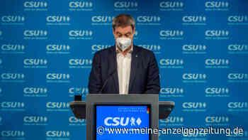 Frust-Zahlen für CSU in Bayern: Schlechtestes Wahlergebnis seit 1949 - Söder macht Verantwortlichen aus
