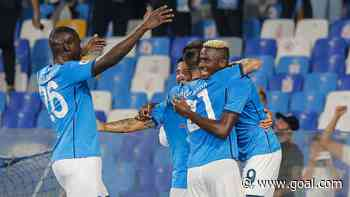 Osimhen scores again as Napoli climb to the top of Serie A table