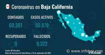 Baja California registra 17 fallecidos por coronavirus en el último día - infobae