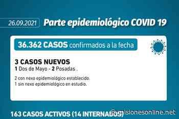 Coronavirus: en Misiones sólo se reportaron tres nuevos casos en las últimas 24 horas - Misiones OnLine