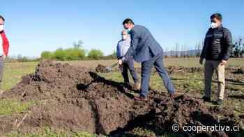 Colocan primera piedra de proyecto Valle Los Parrones de Santa Cruz