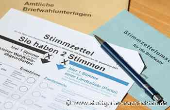 Bundestagswahl 2021: So hat Reutlingen gewählt - Bundestagswahl 2021 - Stuttgarter Nachrichten