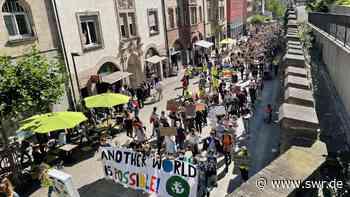 Fridays for Future: Tausende bei Demos in Tübingen und Reutlingen - SWR