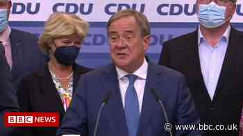 German election: CDU leader 'not happy' with exit poll result