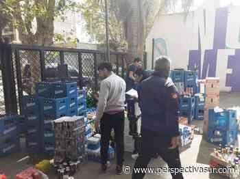 La Comuna de Quilmes desechó gran cantidad de bebidas no aptas para el consumo humano - Perspectiva Sur