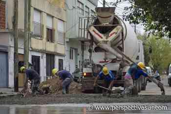 El Municipio continúa con las tareas de pavimentación en Quilmes Oeste - Perspectiva Sur