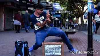 """Una estrella para """"Fichy"""", el artista callejero de Quilmes - Infocielo"""