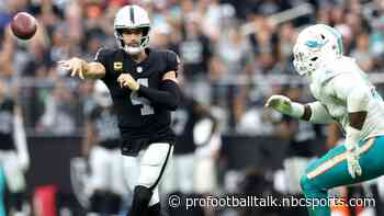 Raiders move to 3-0 with overtime win over Dolphins