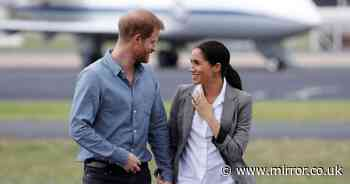 Meghan and Harry arrive back in California on private jet after VIP tour of NYC