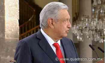 Aún no está confirmada la visita de AMLO a Morelia - Quadratín - Quadratín Michoacán