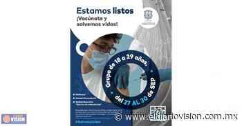 Poliforum Morelia, afina detalles para segunda Jornada de vacunación a jóvenes de 18 a 29 años - El Diario Visión