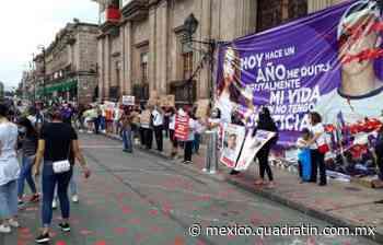 Rabia por caso Jessica en el centro de Morelia - Quadratín México