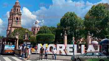 Morelia, con tótem más colorido en el Centro Histórico - MiMorelia.com