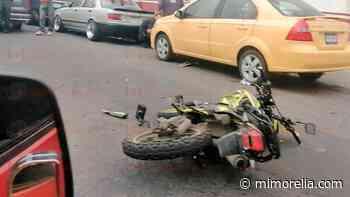 Se registran 2 accidentes viales en Morelia y en Tarímbaro - MiMorelia.com