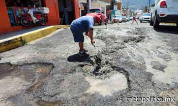 Ciudadanos bachean calles de Morelia por cuenta propia [VIDEO] - Meta Política