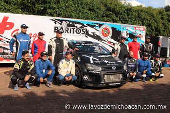 Comienza la descarga de adrenalina: Rally Patrio arranca motores en Morelia - La Voz de Michoacán
