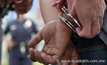 Detienen a presunto responsable de homicidio cometido en Morelia - Quadratín - Quadratín Michoacán