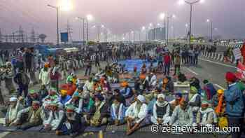 Bharat Bandh today: Traffic movement closed from UP towards Delhi`s Ghazipur due to farmers` protest