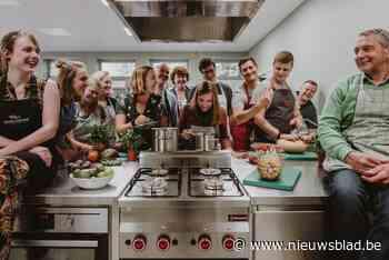 Studenten CVO Focus koken in gloednieuwe keuken