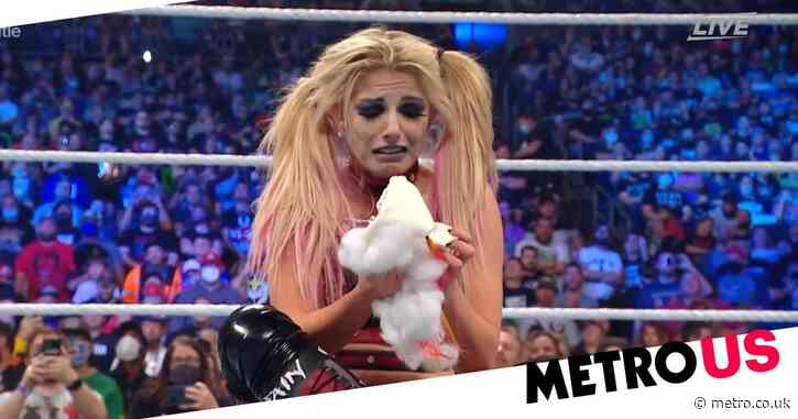 WWE Extreme Rules: Charlotte Flair rips Lilly to shreds as Alexa Bliss foams at the mouth