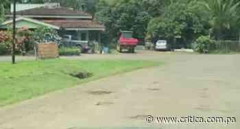 Productores de Los Santos se quejan de las calles llenas de huecos [Video] - Crítica Panamá