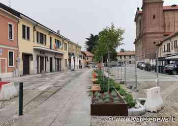 Sabato l'inaugurazione della nuova piazza Italia a Samarate - varesenews.it