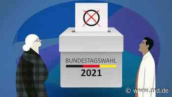 Bundestagswahl 2021 Ergebnisse für den Wahlkreis Aschaffenburg in Grafiken - RND