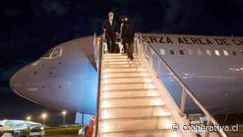 Presidente Piñera arribó a Uruguay para visita oficial