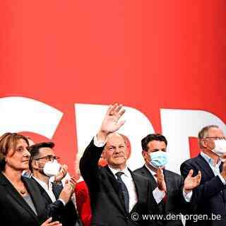 SPD zegeviert in Duitsland, partij Merkel haalt slechtste uitslag ooit