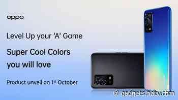 Oppo A-Series Phone to Launch October 1, A55 4G Model Expected