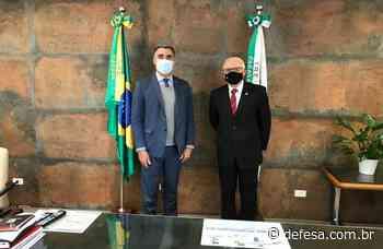 Magistrados da JMU visitam Centro de Instrução de Blindados em Santa Maria (RS) e TRE do Paraná - Defesa - Defesa - Agência de Notícias