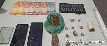 Tático prende suspeito de tráfico de drogas no Santa Maria - Fax Aju