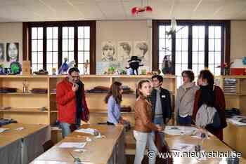 Leerlingen verzorgen mee rondleidingen in Scheppersinstituut