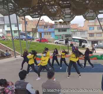 Actividades deportivas y culturales en el Barrio Villa Mercedes, Cazuca - Soacha Iniciativa Ciudadana