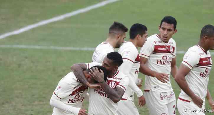 Partido de Universitario vs. Sport Huancayo por la Liga 1: minuto a minuto - El Comercio Perú