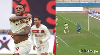 Alberto Quintero anotó de taco el 3-1 de Universitario sobre Sport Huancayo - Libero.pe