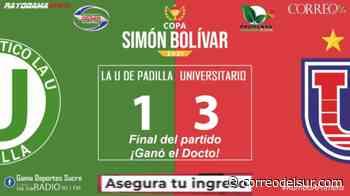 En vivo: La U de Padilla 1 - Universitario 3 - Correo del Sur